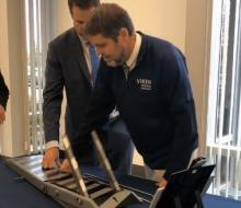 Rep Seth Moulton tours Viken Detection's new facility